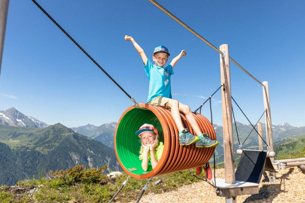 Abenteuerspielplätze am Berg und im Tal (TVB Tux-Finkenberg)