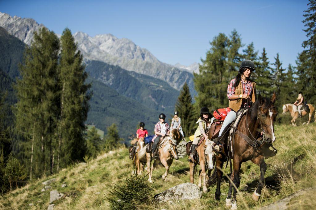 Ausritt in die Berge (c) Hansi Heckmair (Tourismusverein Ahrntal)