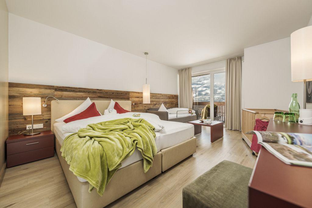 Doppelbett in der JuniorSuite (c) Jan Hanser mood photography (alpina zillertal)