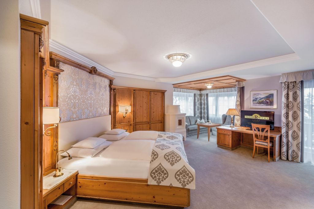 Doppelzimmer Grand de Luxe mit Balkon im Hotel Trofana Royal
