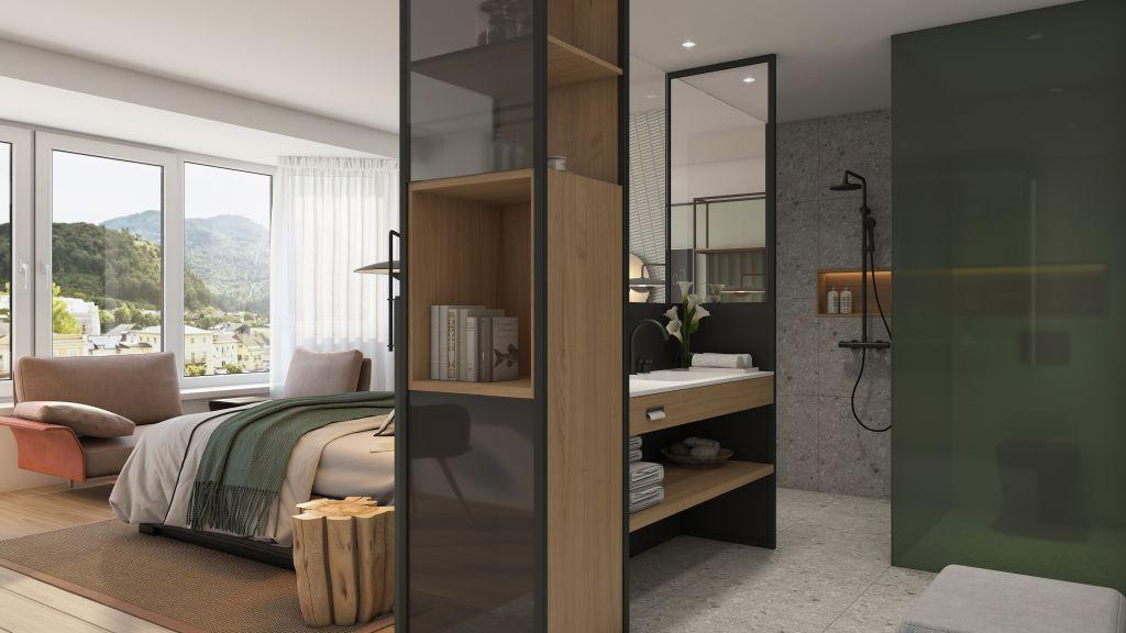 Doppelzimmer Superior Plus Traunblick (Hotel Goldenes Schiff)