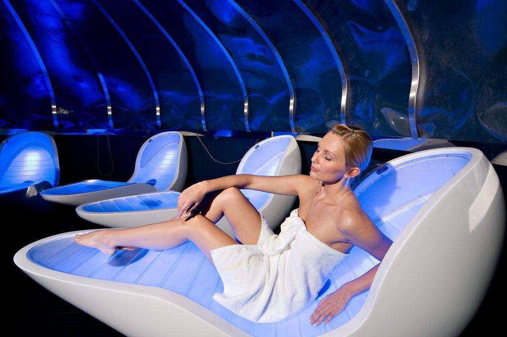 Entspannung im Ruhebereich (Leading Family Hotel & Resort Alpenrose)