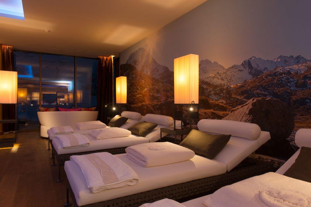 Entspannungsliegen Hotel Zürserhof