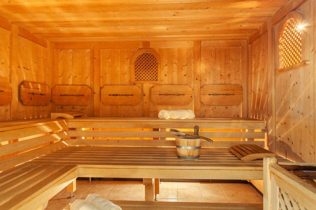 Finnischen Sauna (Alpinhotel Berghaus)