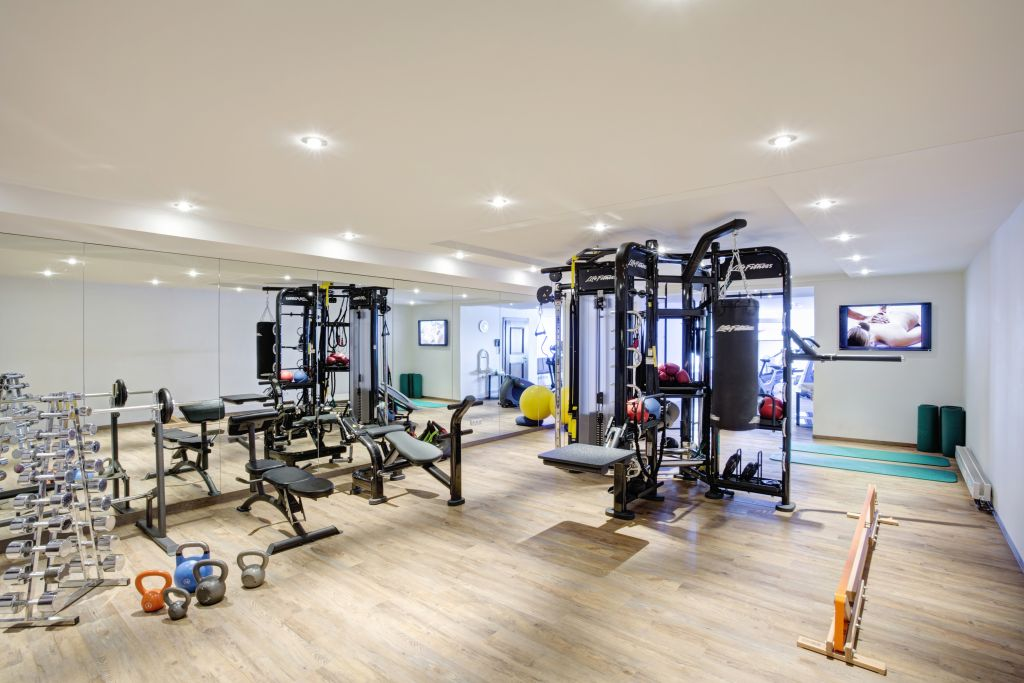 Fitnessbereich Hotel Zürserhof