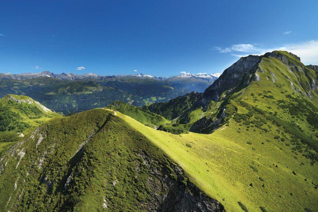 Heukareck Bergpanorama (Tourismusregion Sankt Johann im Pongau)