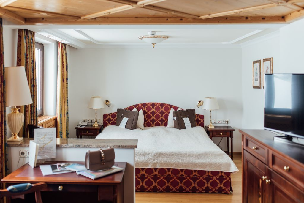Junior Suite (c) Fotograf Patrick Langwallner (Hotel Zürserhof)