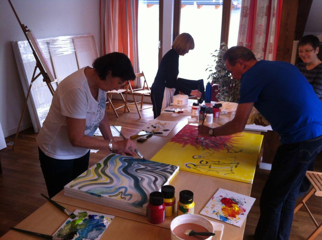 Kunst- und Kreativworkshop (IMPULS HOTEL TIROL)