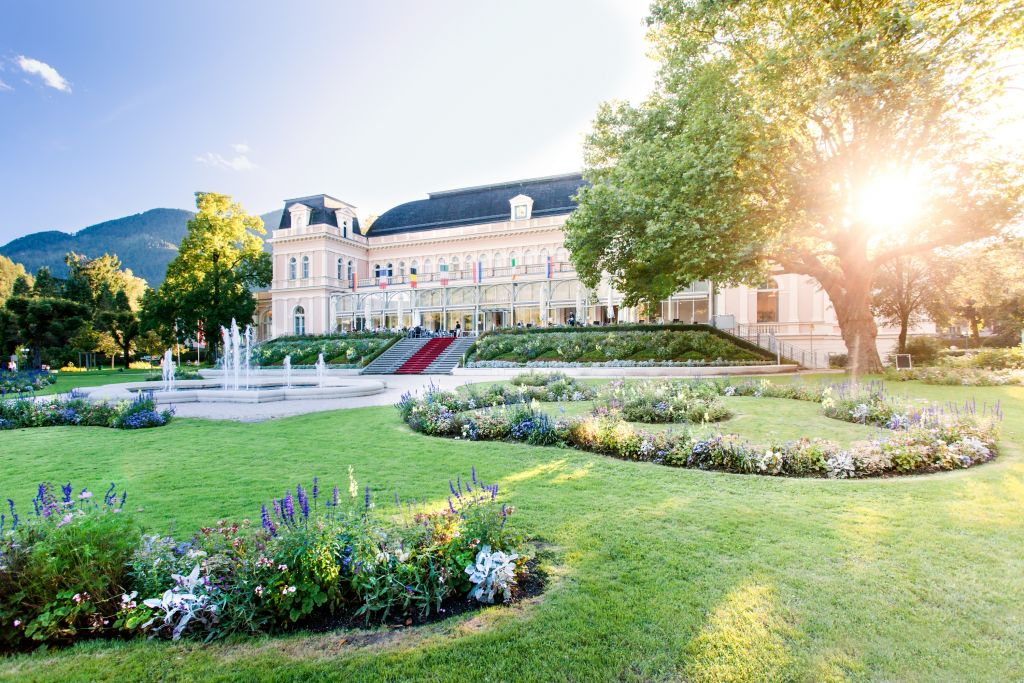 Kurpark mit Musikpavillon (c) Leitner Daniel (Tourismusverband Bad Ischl)