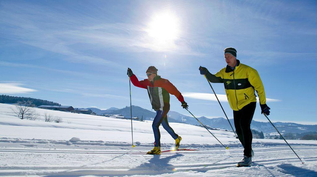 Langlaufen im Winterparadies (c) Oberstaufen Tourismus Marketing (Hotel Concordia)