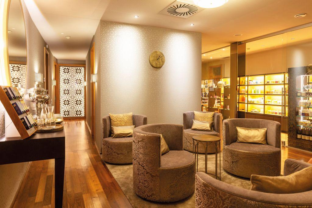 Lounge im Premium-Spa des Larimar (c) Bernhard Bergmann (Hotel Larimar)