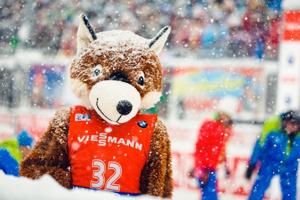 Maskottchen des Biathlon Weltcups in Ruhpolding (Ruhpolding Tourismus GmbH)