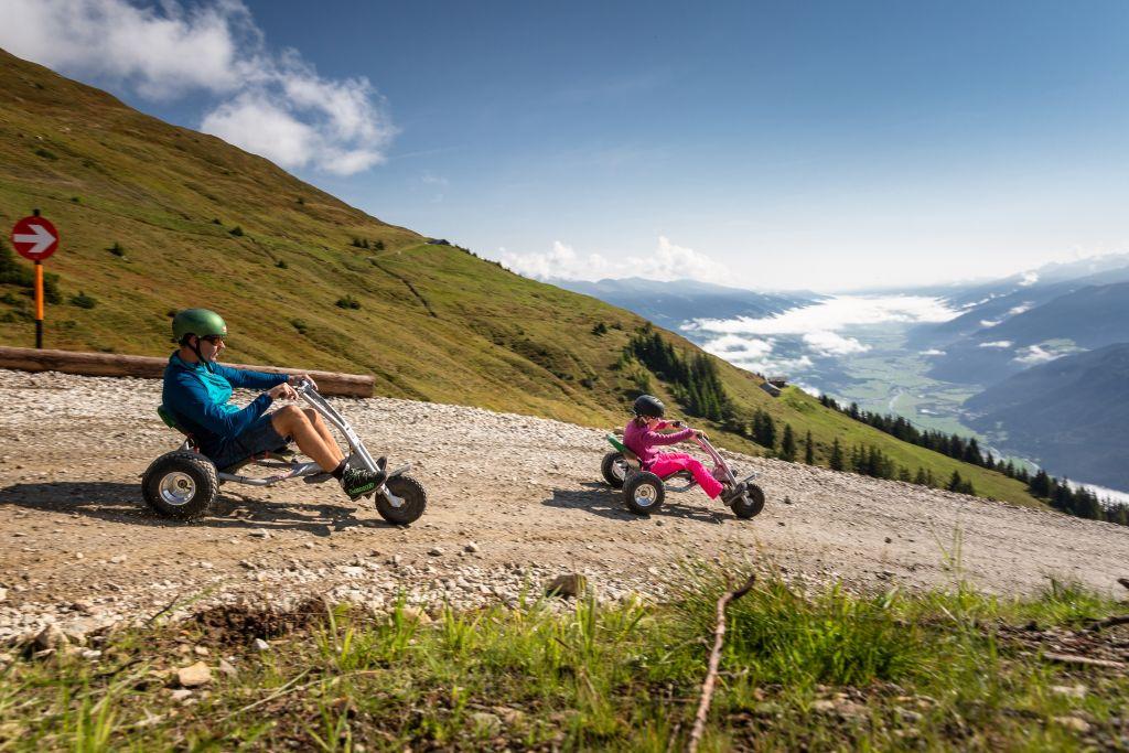 Mountaincart fahren macht Spaß (Wildkogel Arena Neukirchen & Bramberg)