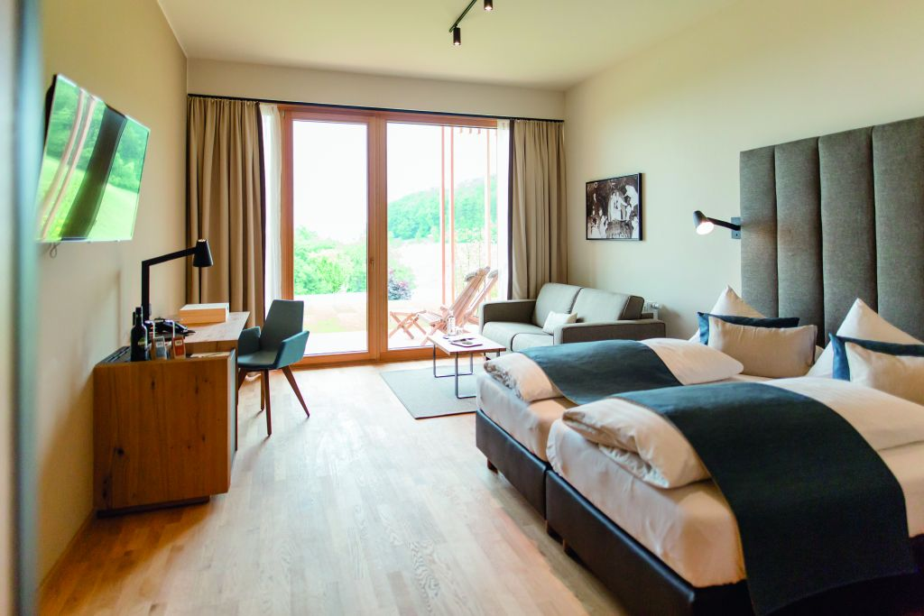 Neue Panoramazimmer im Ratscher Landhaus (c) Karin Bergmann (winzerhotels)