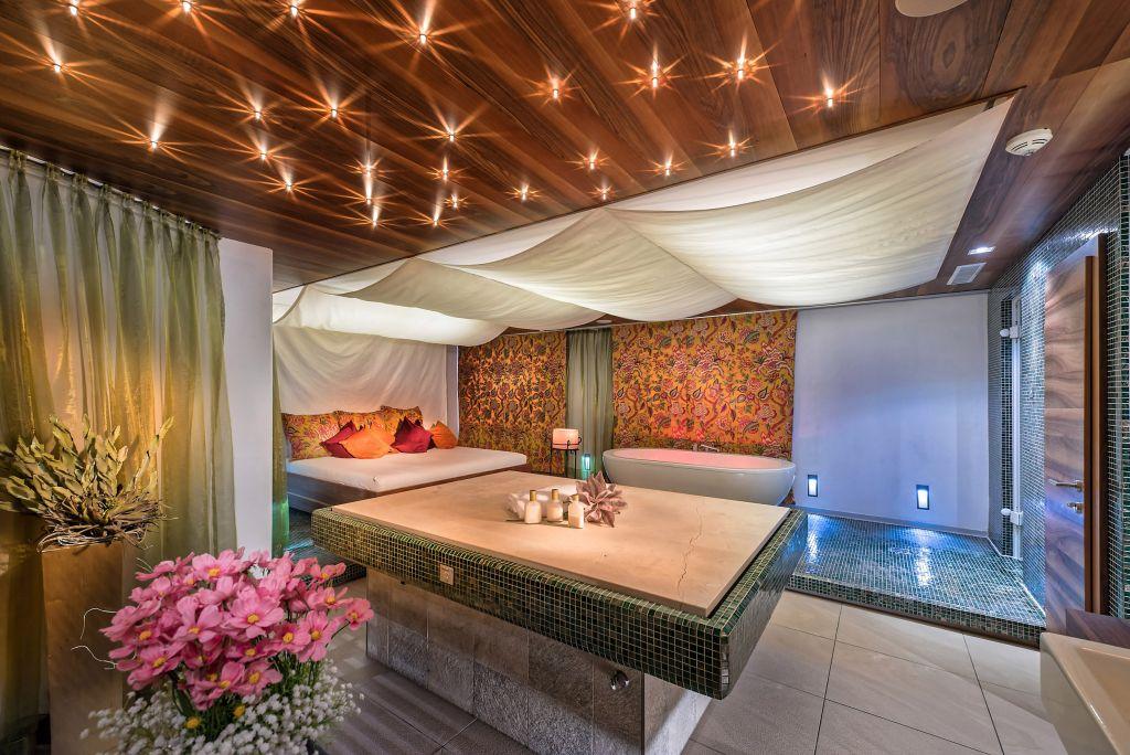 Private Spa im Wellnessbereich (Leading Family Hotel & Resort Alpenrose)