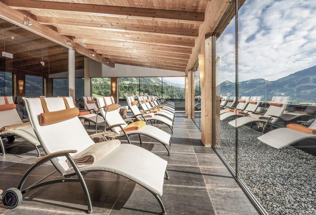 Ruheraum im PanoramaSPA (Mia Alpina . Zillertal Family Retreat)