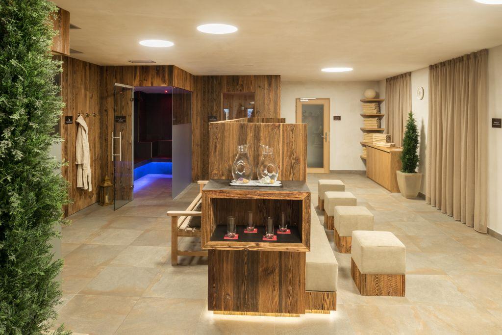 Saunabereich zum Wohlfühlen (Alpin Panorama Hotel Hubertus)