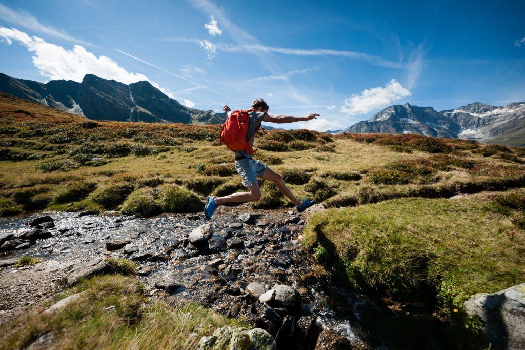 sportlich unterwegs beim Trailrunning im Raurisertal (c) Lukas Pilz (TVB Rauris)