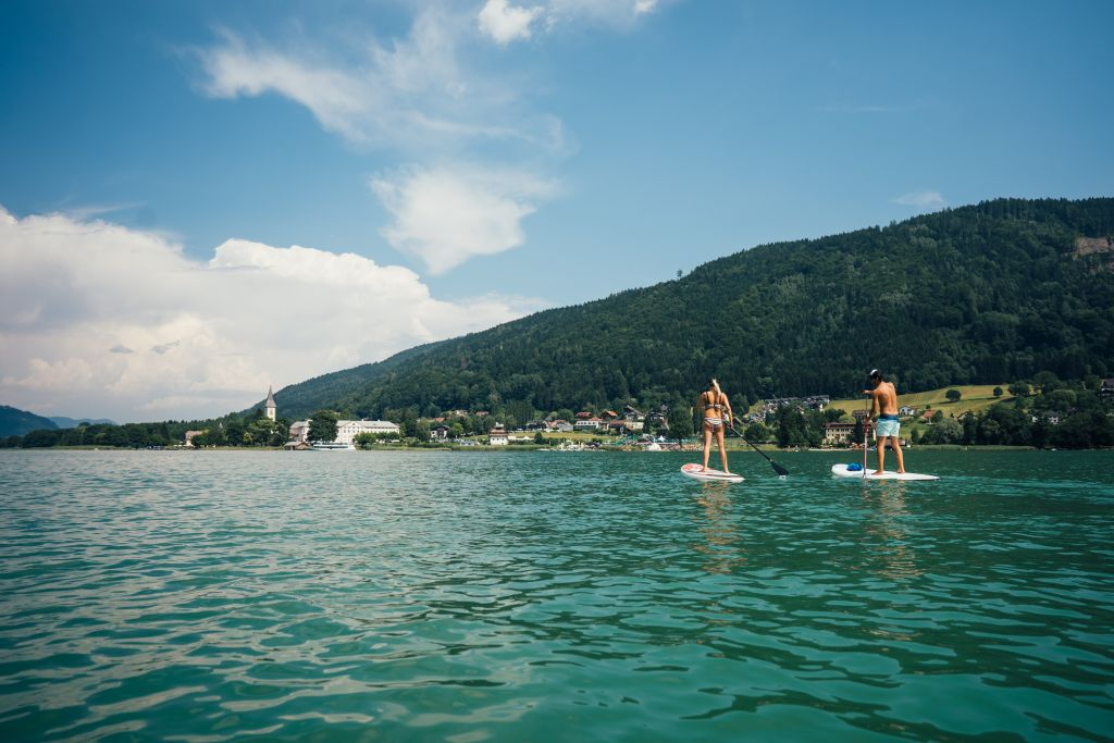 Stand up paddling auf dem Ossiacher See (c) Martin Hofmann (Alps Residence)