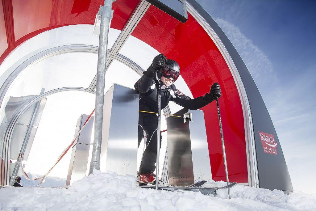 Starthaus der Skimovie-Challenge (Wildkogel Arena)