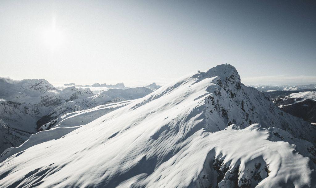 Verschneite Berglandschaft (c) Manuel Kottersteger (Olang)