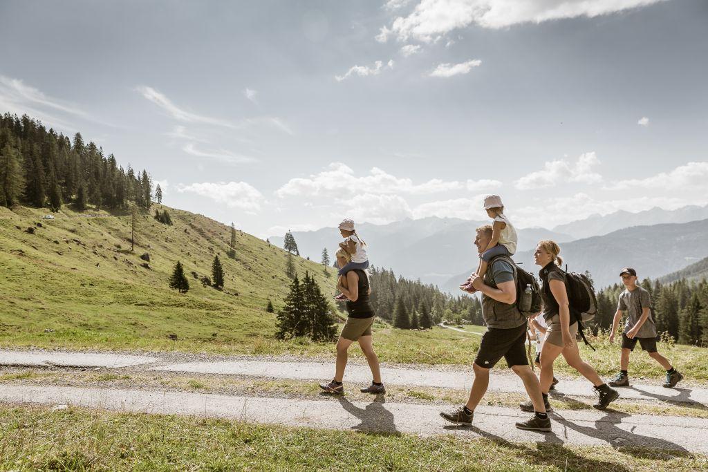 Wandern mit der ganzen Familie in der Ferienregion Imst (c) Rudi Wyhlidal (Imst)