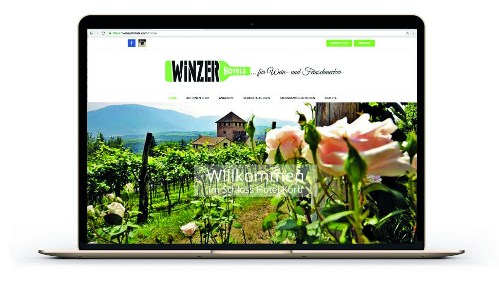 Website Ansicht_Winzerhotels (Schenkenfelder Kommunikation)