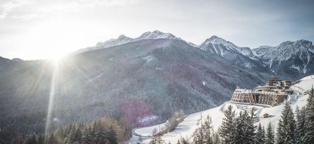 Winterliche Idylle im traumhaften Südtirol (Alpin Panorama Hotel Hubertus)