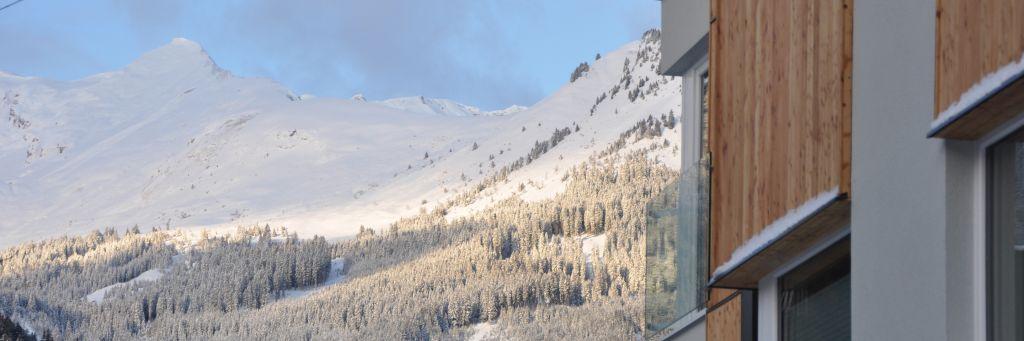 winterlicher Ausblick (IMPULS HOTEL TIROL)