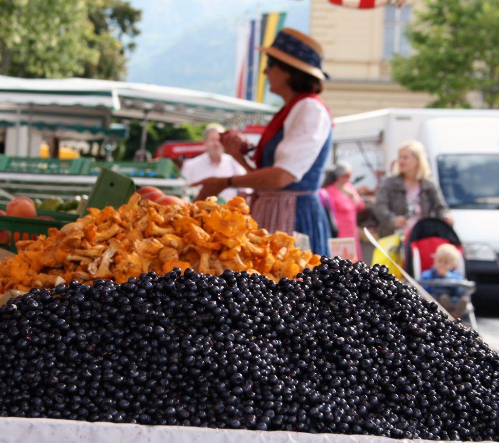 Wochenmarkt für Feinschmecker (c) www.badischl.at (Tourismusverband Bad Ischl)