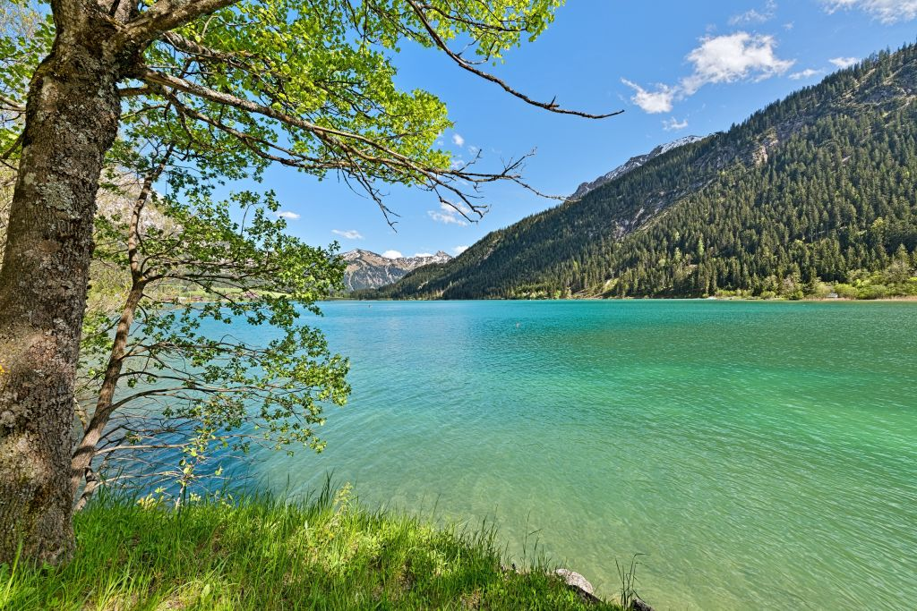 Wunderschöner Bergsee (Hotel Bergblick)