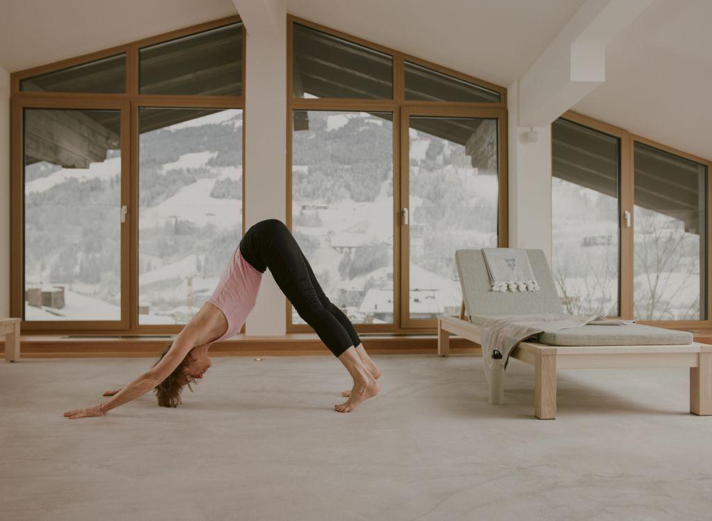 Yoga Sessions im Freiraum (c) Lisa Edi (Hotel Blü Gastein)