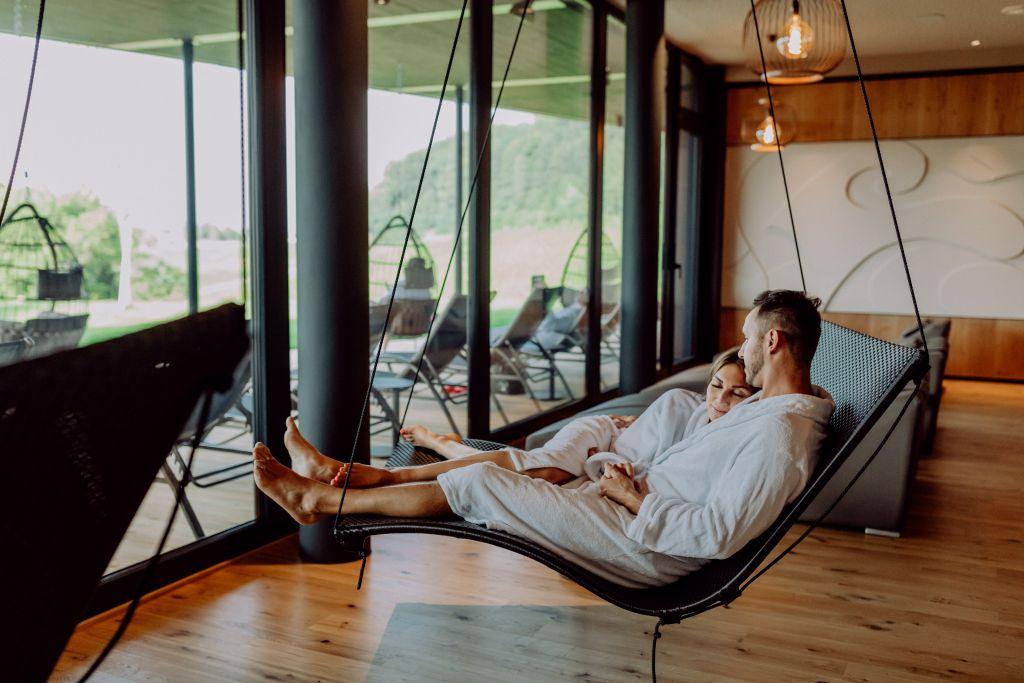 Zeit zu zweit im Wellness-Bereich (c) Karin Bergmann (Ratscher Landhaus)