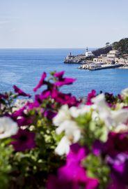 Blick auf die Bucht vom Hotel Espléndido aus