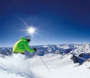 Skifahren am Stubaier Gletscher - Vitalhotel Edelweiss
