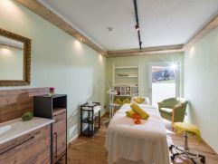 Behandlungsraum für entspannende Anwendungen (Hotel Waldfriede)