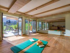 Hell und freundlich - der neue Yogaraum (Hotel Waldfriede)