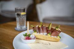 Köstliches Baguette mit Proscuitto (c) Daniel Demichiel (Hotel Sun Valley)
