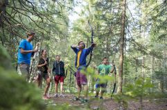 3D-Bogenparcours Kron Arc Adventure in Olang