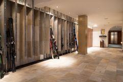 Abstellraum für Ski (c) Dominik Zimmermann (Hotel Zürserhof)