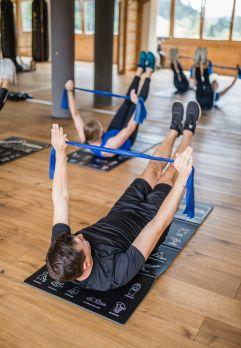 Abwechslungsreiches Fitnessprogramm im hoteleigenem Fitnesscenter (c) Agentur Giggle (Hotel Quelle)