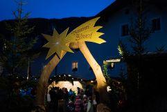 Eingang zum Rauriser Adventsmarkt (c) Florian Bachmeier