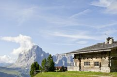 Almhütte im Sommer (c) IDM Südtirol (Hotel Sun Valley)
