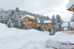 Alpenpark Turracher Höhe aussen des Alps Residence