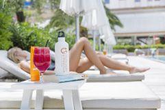 Am Pool entspannen im Palma Sport + Tennis Club (c) Johanna Gunnberg (Hotel Espléndido)