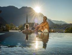 Attraktive Becken mit Sprudelliegen im Eurothermen Resort (c) Eurothermen Resorts (Tourismusverband Bad Ischl)