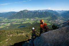 Attraktive Klettersteige mit lohnende Gipfel (c) Outdoor Leadership (Tourismusverband Bad Ischl)