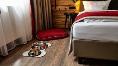 Auch Hunde kommen auf ihre Kosten im Hotel Traumschmiede (c) Thomas Haberland (Hotel Traumschmiede und Gasthof zur alten Schmiede)