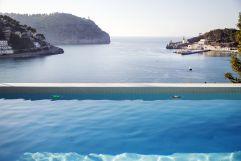 Ausblick Infinity Pool (Hotel Espléndido)