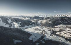 Ausblick ins verschneite Tal (c) Manuel Kottersteger (Olang)